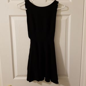 American Apparel Backless Black Dress
